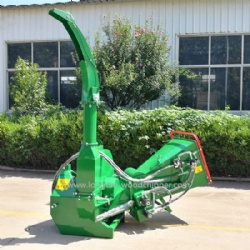 Direct Drive 10 Inch Wood Chipper 3 Point Hitch 65 - 100HP 320mm Knife Length