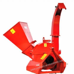 European Style Self Powered Tractor Driven Wood Chipper BX42