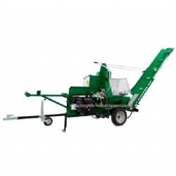 TUV CE Automatic gasoline log splitter for firewood splitting