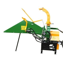 CE APPROVED WC-8H WOOD CHIPPER WITH HYDRAULIC FEEDING