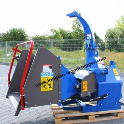 CE APPROVED HYDRAULIC FEEDING OF BX52R WOOD CHIPPER