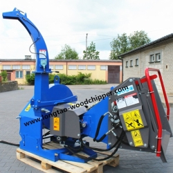 LONGTAO BX52R WOOD CHIPPER WITH HYDRAULIC ROLLER FEED GERMANY TUV CERTIFICATE