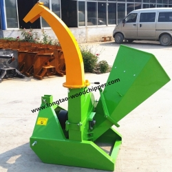 Small tractor 3 point PTO wood chipper BX42 CE approved