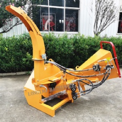 Hot sale Auto feed 3 point hitch PTO driven wood chipper BX62R CE approved